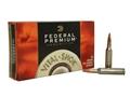 Federal Premium Vital-Shok Ammunition 260 Remington 120 Grain Nosler Ballistic Tip Box of 20