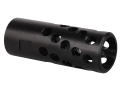 "Product detail of AR-Stoner Heli-Port Muzzle Brake 9/16""-24 Thread AR-15 6.5mm Parkerized"