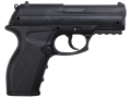 Crosman C11 Air Pistol 177 Caliber Black Polymer Grips Blue Barrel