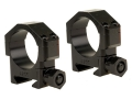 Badger Ordnance Picatinny-Style 30mm Maximized Rings Matte Low
