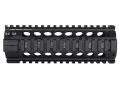 Midwest Industries Gas Piston Free Float Tube Handguard Quad Rail AR-15 Aluminum Black