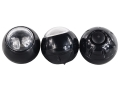 Brite Strike RID3 Tactical Balls Flashlights Set of 3 Tactical Flashlights with Tactical Deployment Pouch Aluminum Black