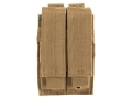 VTAC Double Magazine Pouch Pistol Magazines Nylon Flat Dark Earth