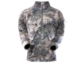 Sitka Gear Men&#39;s Merino Zip-T Base Layer Shirt Long Sleeve Wool