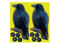 "Birchwood Casey Shoot-N-C Crow Target 8"" Package of 12"