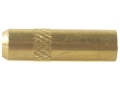 Dewey Thread Adapter Converts 12 x 28 Male to 5/16 x 27 Female Brass