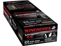 Winchester Super-X Ammunition 22 Winchester Magnum Rimfire (WMR) 28 Grain Jacketed Hollow Point Lead-Free Box of 500 (10 Boxes of 50)