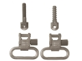 Uncle Mike&#39;s Quick Detachable Machine Screw Type Sling Swivel Set 1&quot; Nickel Plated
