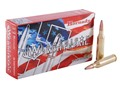 Hornady American Whitetail Ammunition 243 Winchester 100 Grain Interlock Spire Point Boat Tail Box of 20