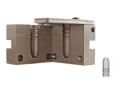 Saeco 1-Cavity Magnum Bullet Mold #881 45 Caliber (458 Diameter) 500 Grain Round Nose