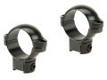 Leupold 1&quot; Ring Mounts Rimfire 3/8&quot; Grooved Receiver Gloss Medium