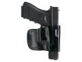 Gould & Goodrich B891 Belt Holster Left Hand HK P2000, P2000HK, P30, USP 9 Compact, USP 357 Compact, USP 40 Compact, USP 45 Compact, USP 9, USP 40, USP 45 Leather Black