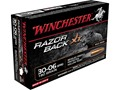 Winchester Razorback XT Ammunition 30-06 Springfield 180 Grain Hollow Point Lead-Free