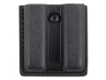 Safariland 79 Slimline Open-Top Magazine Pouch Glock 17, 22, 34, 35, Sig Sauer P220, P226, P229, SP2340 Laminate Black