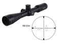 Vortex Viper HS Tactical Rifle Scope 30mm Tube 5-15x 44mm Side Focus 1/10 MIL Adjustments Mil-Dot Reticle Matte