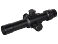 Valdada IOR Tactical Rifle Scope 30mm Tube 4x 24mm Illuminated CQB Reticle Matte