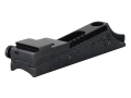 "Marble's #30 Universal Rear Sight Base with .490"" to .675"" Height Adjustment and 1/2"" to 1"" Hole Spacing Steel Blue"