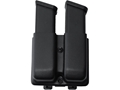 Product detail of Blade-Tech Double Magazine Pouch Right Hand Double Stack Glock 9/40 Magazines Tek-Lok Kydex Black