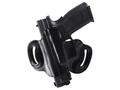 DeSantis Mini Slide Belt Holster Left Hand Springfield XD Leather Black