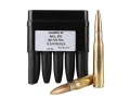 Barrett Firearms Ammunition 50 BMG 661 Grain M33 Full Metal Jacket Steel Core