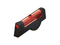 HIVIZ Front Sight S&W K, L, N Frame Revolver with Pinned Front Sight Steel Fiber Optic Red