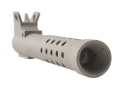 John Masen Muzzle Brake with Front Sight Ruger Mini-14 Stainless Steel