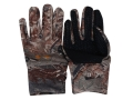 Under Armour UA Coldgear Liner Gloves Synthetic Blend Mossy Oak Duck Blind Camo XL