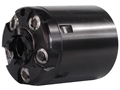 Howell&#39;s Old West Semi Drop In Conversions Drop-In Conversion Cylinder 31 Caliber Uberti 1849 Pocket Pistol Steel Frame Black Powder Revolver 32 S&amp;W 5-Round Blue