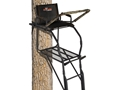 Big Game The Legend Single Ladder Treestand Steel Black