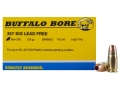 Buffalo Bore Ammunition 357 Sig 125 Grain Barnes TAC-XP Jacketed Hollow Point Low Flash Lead-Free Box of 20