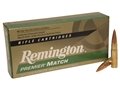 Remington Premier Match Ammunition 300 AAC Blackout (7.62x35mm) 125 Grain Open-Tip Match (OTM) Box of 20