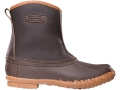 "LaCrosse Trekker 7"" Waterproof Uninsulated Hunting Boots Leather and Rubber Brown Men's 7"