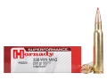 Hornady SUPERFORMANCE Ammunition 338 Winchester Magnum 200 Grain SST Box of 20