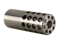 Vais Muzzle Brake 3/4&quot; 264 Caliber, 6.5mm 1/2&quot;-32 Thread .750&quot; Outside Diameter x 1.950&quot; Length Stainless Steel