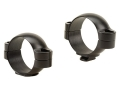 Leupold 30mm Standard Rings Matte Low