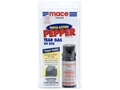 Mace Triple-Action Fogger Pepper Spray 55 Grams Aerosol 10% OC Plus Tear Gas and UV Dye White