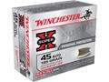 Winchester Super-X Ammunition 45 ACP 185 Grain Silvertip Hollow Point