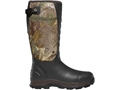 "LaCrosse 7mm 4XAlpha 16"" Waterproof Insulated Hunting Boots Hand-Laid Premium Rubber Over Neoprene Men's"