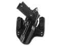 Galco V-HAWK Inside the Waistband Holster Right Hand Springfield XD 9, 40 4&quot; Leather Black