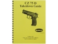 Radocy Takedown Guide &quot;CZ 75&quot;