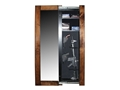 Willa-Hide Hidden Reflections Full-Length Mirror Security Cabinet Rustic Fruitwood