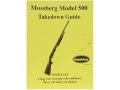 "Radocy Takedown Guide ""Mossberg 500"""