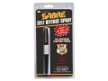 Sabre 3-in-1 Pen Pepper Spray 10 Gram Aerosol 10% OC Plus CS and UV Dye Black