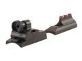 Williams WGRS-Optima Guide Receiver Peep Sight Set with Front Fire Sight Aluminum Black