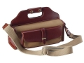Galco Sporting Clays Bag Canvas with Leather Trim Tan