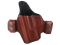Bianchi Allusion Series 125 Consent Outside the Waistband Holster Left Hand Springfield XDM Leather Tan