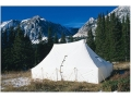 Montana Canvas Kenai 10' x 20' Tent with Sewn-In Floor, 2 Windows and Screen Door 10 oz Canvas
