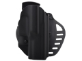 Hogue PowerSpeed Concealed Carry Holster Outside the Waistband (OWB) Right Hand Sig Sauer P250  Polymer Black