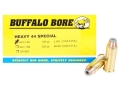 Buffalo Bore Ammunition 44 Special 180 Grain Jacketed Hollow Point