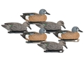 Hard Core Blue Wing Teal Floater Duck Decoy Pack of 6